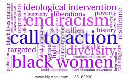 Call To Action Word Cloud
