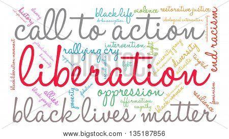 Liberation Word Cloud