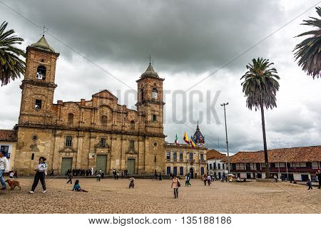 Zipaquira Main Plaza