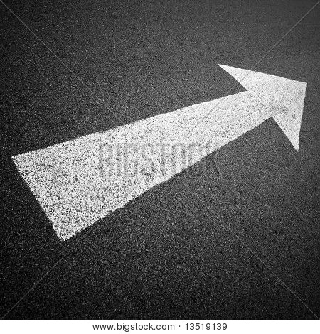 forward direction on road
