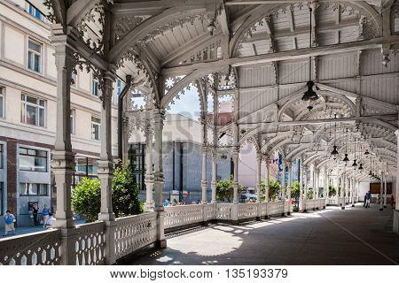 Market Colonnade,Czech republic