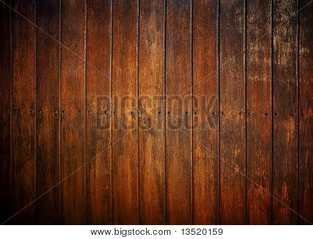 Fondo de tablón de madera antiguo