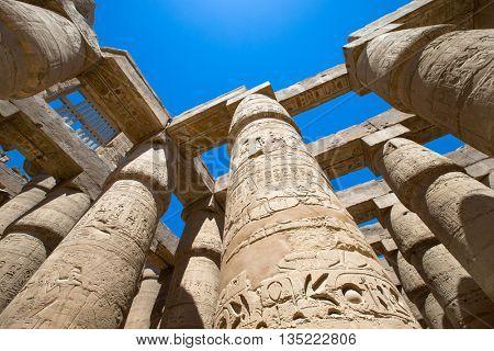 Africa, Egypt, Luxor, Karnak temple
