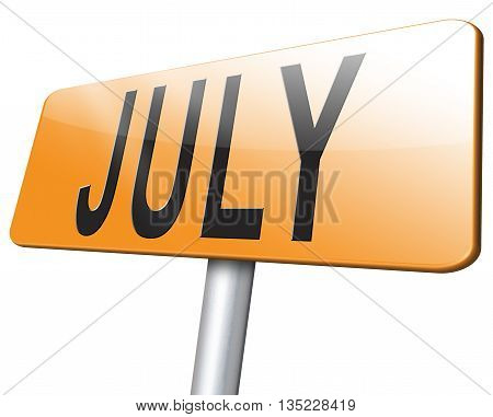 Month July