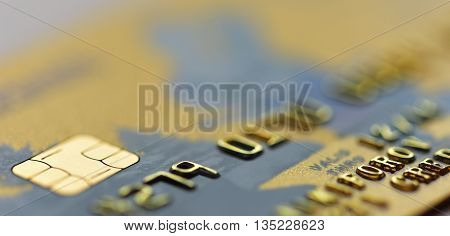 Credit Card Closeup