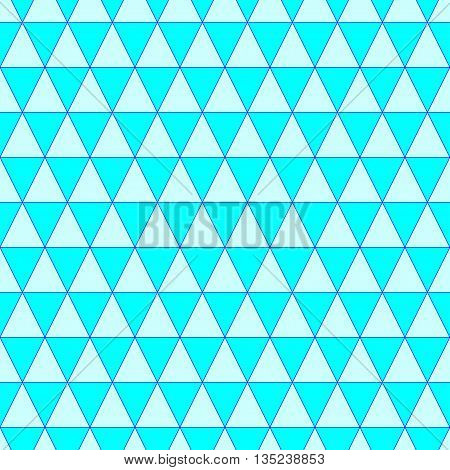 Triangle geometric seamless pattern. Fashion graphic background design. Modern stylish abstract colorful texture. Template 4 prints textiles wrapping wallpaper website etc Stock VECTOR ilustration