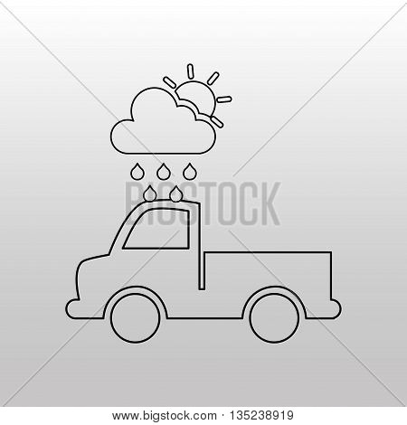 conveyance concept design, vector illustration eps10 graphic