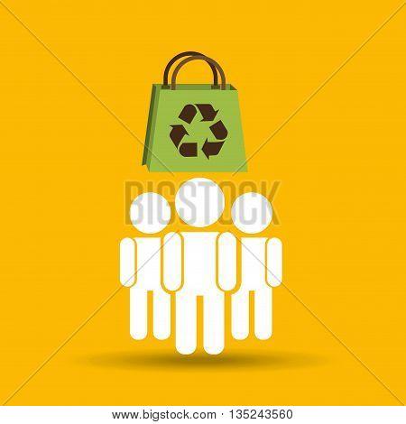 ecology concept design, vector illustration eps10 graphic