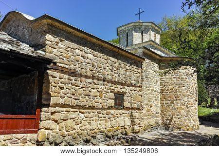 Old Stone Church of Temski monastery St. George, Pirot Region, Republic of Serbia