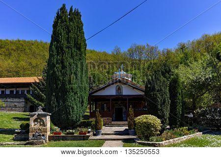 Church in Temski monastery St. George, Pirot Region, Republic of Serbia