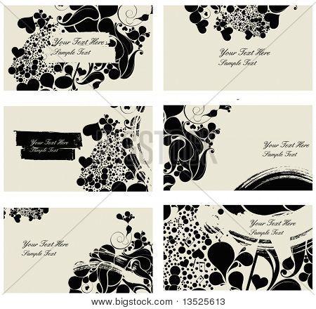 music Beauty drop namecards