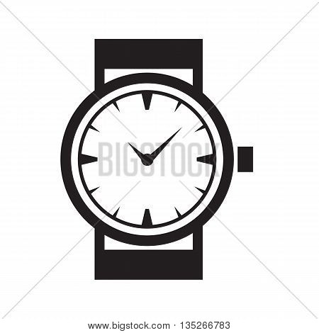 Time Or Clock Icon, Logo, Template, Pictogram. Modern Emblem For Business, Market, Shop, Internet, D