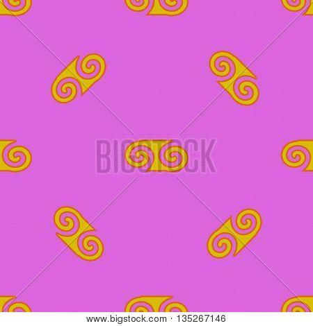 Spiral seamless pattern. Fashion graphic background design. Modern geometric stylish abstract texture.