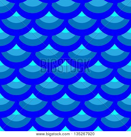 Half-round geometric seamless pattern. Fashion graphic background design. Modern stylish abstract color texture. Template 4 prints textiles wrapping wallpaper website etc Stock VECTOR illustration