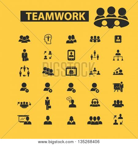 teamwork icons