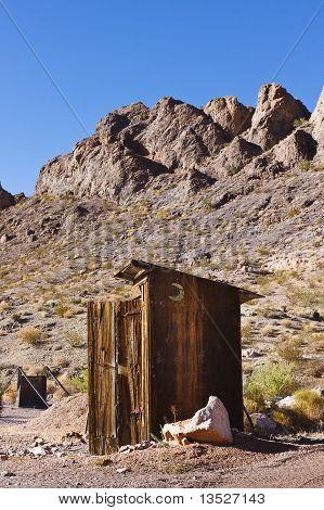 Casinha no deserto