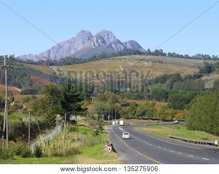 Stellenbosch Area, Cape Town South Africa