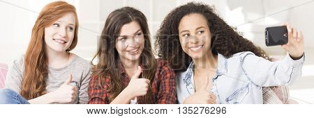 Thumbs Up For Friendship