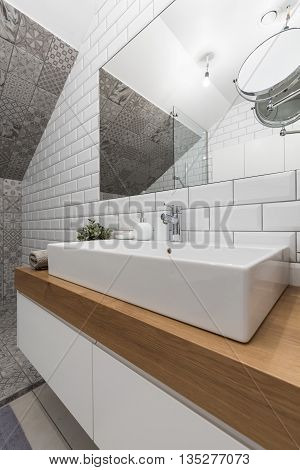 Luxurious Bathroom In New Style