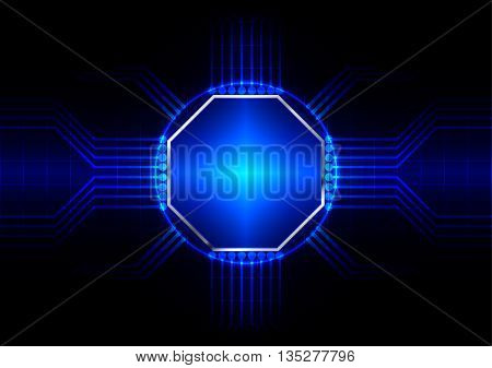 abstract circuit board vector background. illustration vector