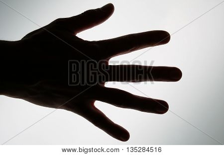 hand is here for you can see
