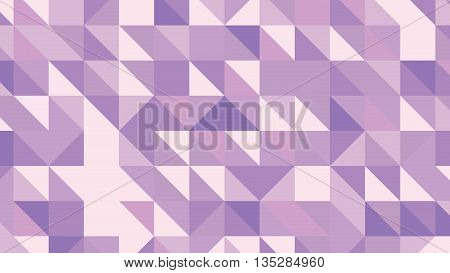 Abstract violet vector lowploly of many triangles background for use in design.