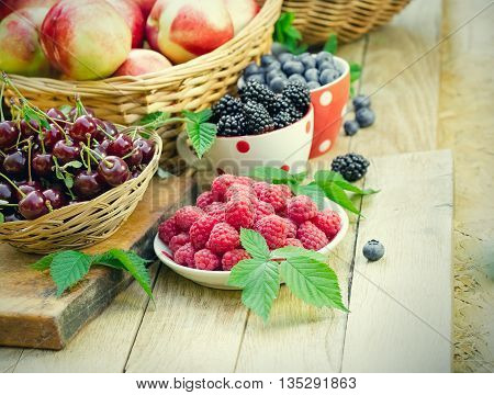 For strengthening the immune system - healthy organic berry fruit