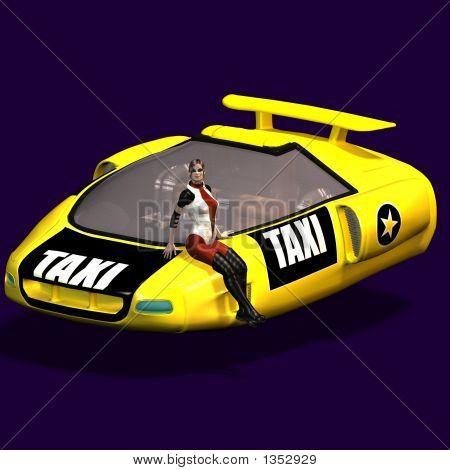 Futuristic Cab
