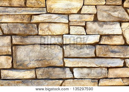 Southwest Ledge Rock Limestone Wall