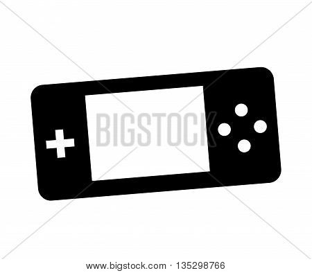 Control video game isolated icon design, vector illustration  graphic