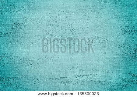 Turquoise Color Plaster Wall Decoration with Texture