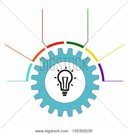 Modern Design template.Trend bar Infographic.Infographic colored steps.Business infographics template for presentation.Vector infographic composition.