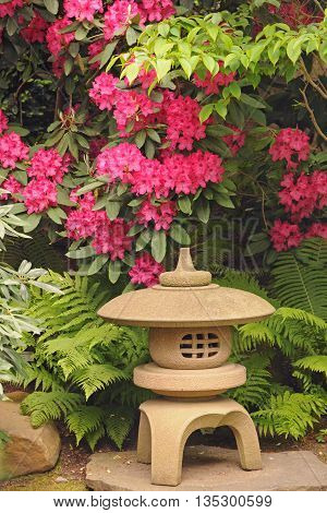 It is image of details in Japanese garden.