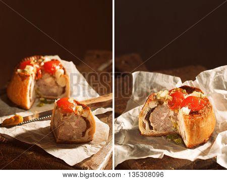 Pork pie montage
