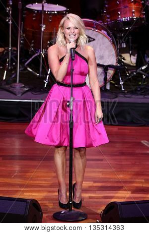 NASHVILLE, TN-SEP 1: Miranda Lambert performs onstage during the 9th Annual ACM Honors at the Ryman Auditorium on September 1, 2015 in Nashville, Tennessee.