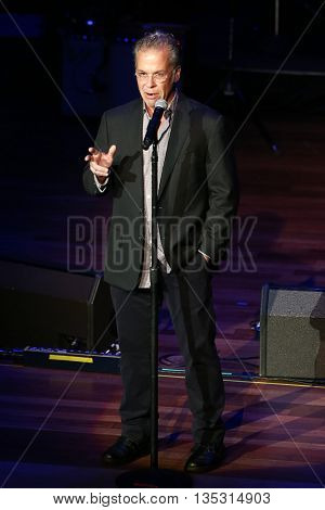NASHVILLE, TN-SEP 1: RAC Clark onstage during the 9th Annual ACM Honors at the Ryman Auditorium on September 1, 2015 in Nashville, Tennessee.
