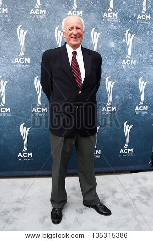 NASHVILLE, TN-SEP 1: Bob McDill attends the 9th Annual ACM Honors at the Ryman Auditorium on September 1, 2015 in Nashville, Tennessee.