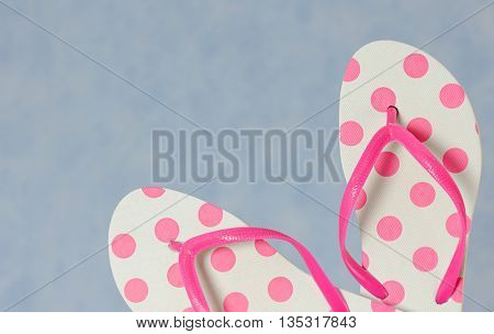 flip flops close up