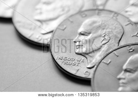 Coins of Silver American Money wealth and benefits of riches