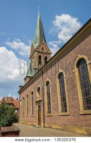 Bonifatius Church In The Historical Center Of Lingen