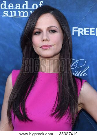 LOS ANGELES - JUN 15:  Tammin Sursok arrives to the arrives to the Pretty Little Liars Season 7 Event  on June 15, 2016 in Hollywood, CA.