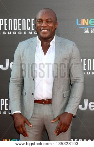 LOS ANGELES - JUN 20:  Deobia Oparei at the Independence Day: Resurgence LA Premiere at the TCL Chinese Theater IMAX on June 20, 2016 in Los Angeles, CA