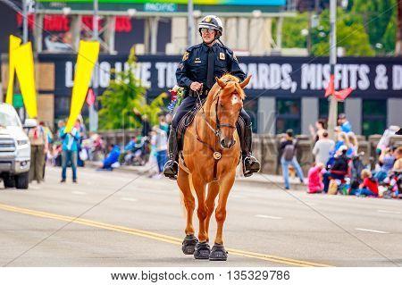 Portland Grand Floral Parade 2016