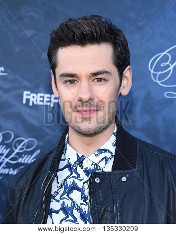 LOS ANGELES - JUN 15:  Brendan Robinson arrives to the arrives to the Pretty Little Liars Season 7 Event  on June 15, 2016 in Hollywood, CA.
