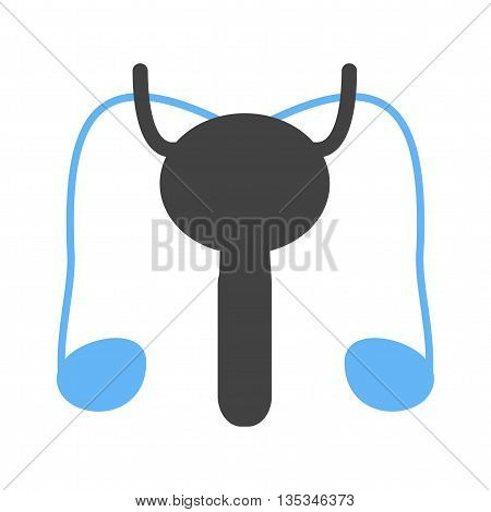 System, male, reproductive icon vector image. Can also be used for human anatomy. Suitable for mobile apps, web apps and print media.