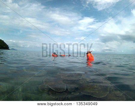 Snorkeling in Pulau Nasi, Kabupaten Aceh Besar