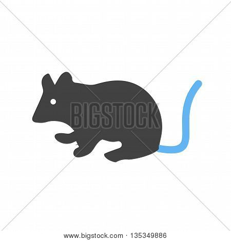 Mouse, animal, rat icon vector image. Can also be used for pet shop. Suitable for mobile apps, web apps and print media.