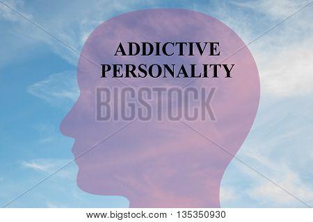Addictive Personality Mental Concept