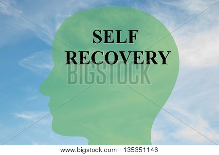 Self Recovery Mental Concept