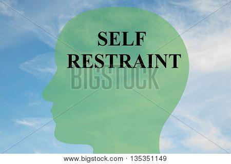 Self Restraint Mental Concept